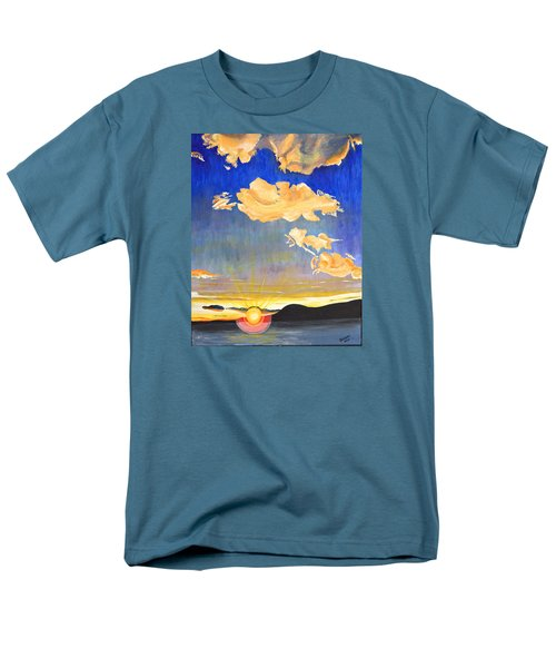 Sunset #6 Men's T-Shirt  (Regular Fit) by Donna Blossom