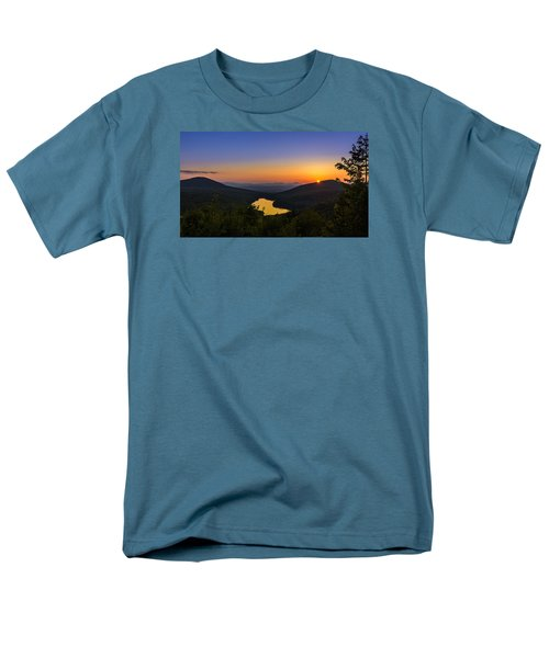 Sunset At Owls Head Men's T-Shirt  (Regular Fit) by Tim Kirchoff