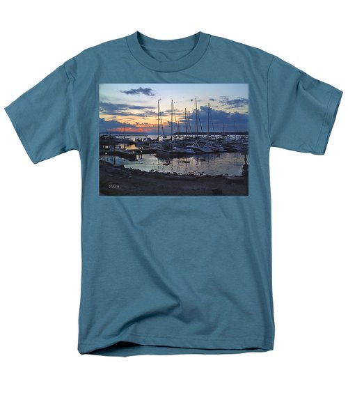 Men's T-Shirt  (Regular Fit) featuring the photograph Sunset Dock by Felipe Adan Lerma