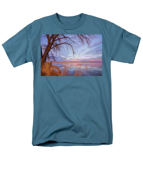 Men's T-Shirt  (Regular Fit) featuring the photograph Sunset Overhang by Darren White