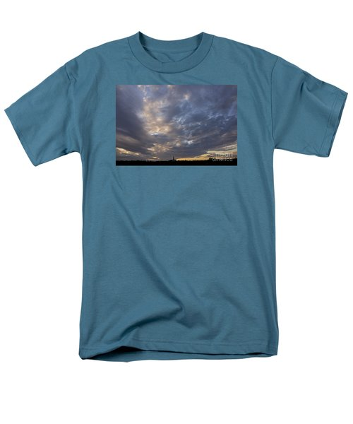 Men's T-Shirt  (Regular Fit) featuring the photograph Sunset Sky by Inge Riis McDonald