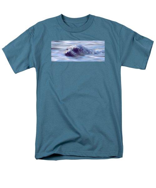 Surfacing Seal Men's T-Shirt  (Regular Fit) by Greg Slocum