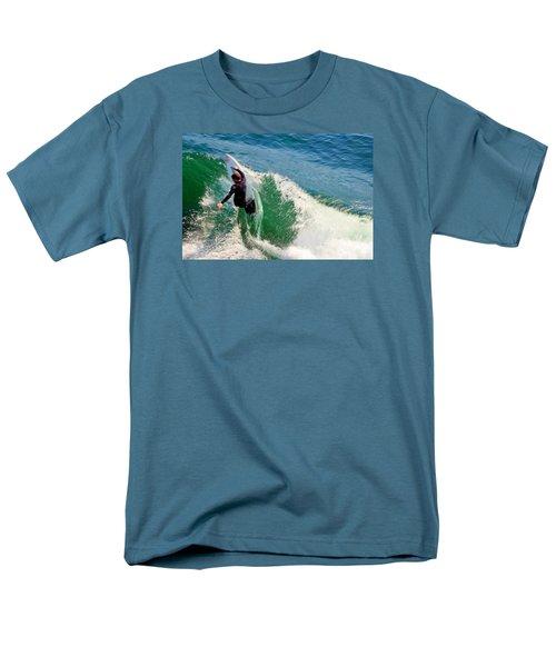 Surfer, Steamer Lane, Series 18 Men's T-Shirt  (Regular Fit) by Antonia Citrino