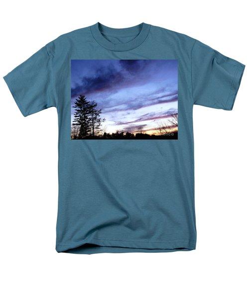 Men's T-Shirt  (Regular Fit) featuring the photograph Swept Sky by Melissa Stoudt