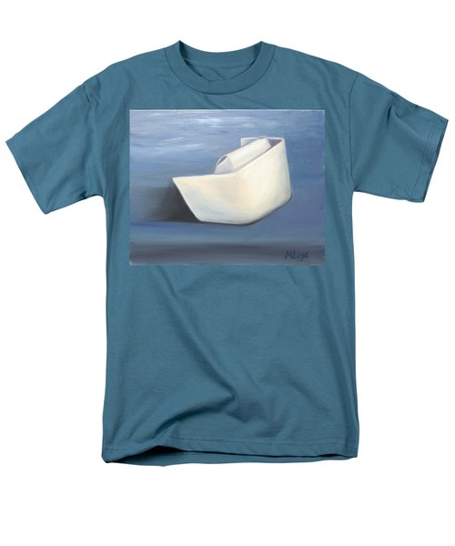 Men's T-Shirt  (Regular Fit) featuring the painting Symbol Of A Proud Profession IIi by Marlyn Boyd