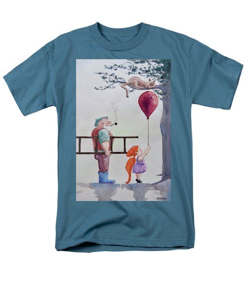 Men's T-Shirt  (Regular Fit) featuring the painting Take It Please by Geni Gorani