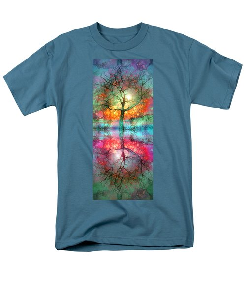 Men's T-Shirt  (Regular Fit) featuring the digital art Take The Light This Life Has To Offer by Tara Turner