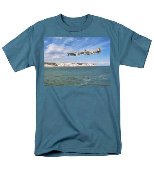 Men's T-Shirt  (Regular Fit) featuring the photograph Tally Bally Ho by Roy McPeak