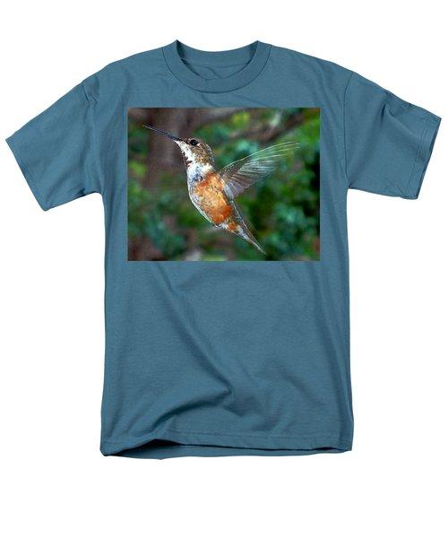Tan Hummingbird Men's T-Shirt  (Regular Fit) by Joseph Frank Baraba