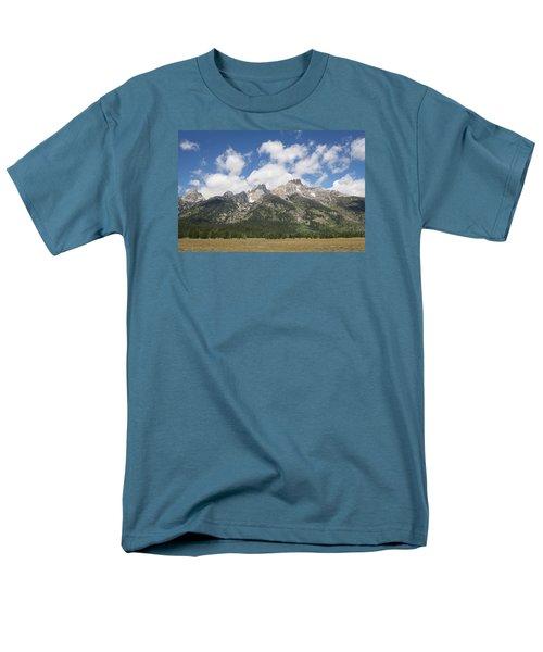 Teton View Men's T-Shirt  (Regular Fit) by Diane Bohna