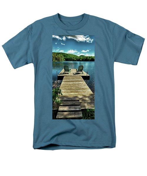 The Adirondacks Men's T-Shirt  (Regular Fit) by David Patterson