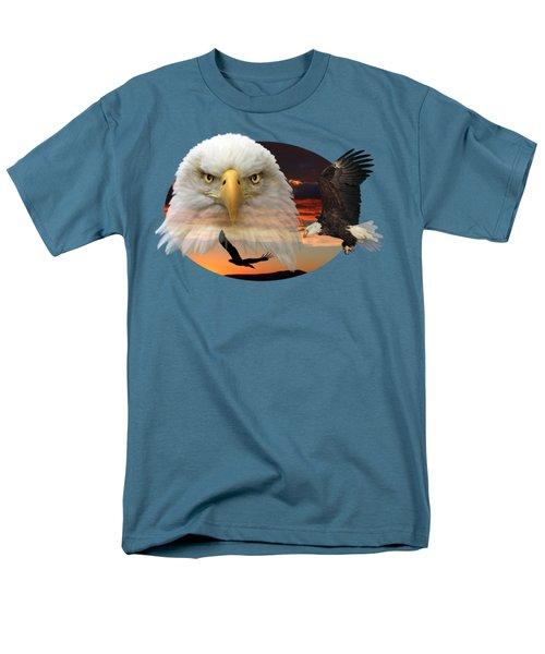 The Bald Eagle 2 Men's T-Shirt  (Regular Fit) by Shane Bechler