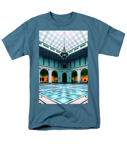 Men's T-Shirt  (Regular Fit) featuring the photograph The Beaux-arts Court by Chris Lord