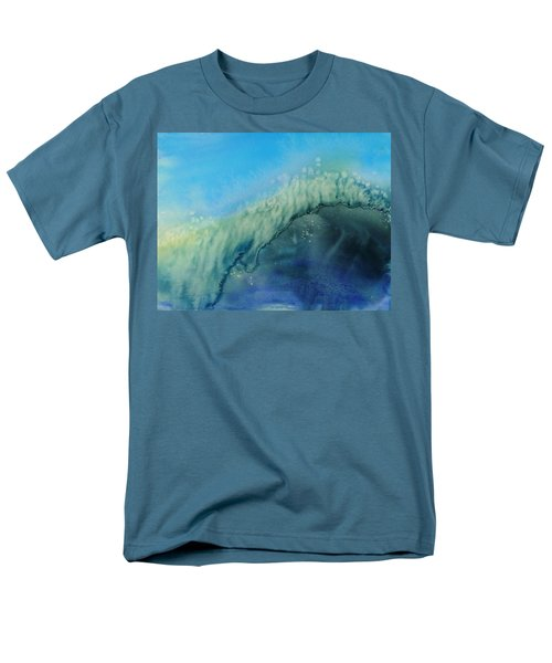 The Big Curl Men's T-Shirt  (Regular Fit) by Susan Duda