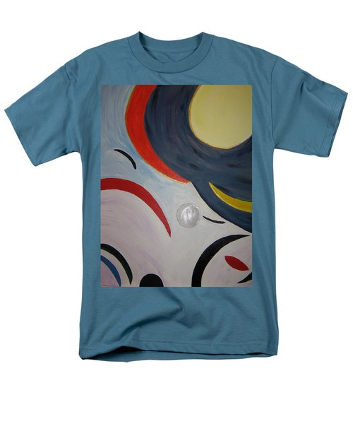 The Cosmos Men's T-Shirt  (Regular Fit) by Barbara Yearty