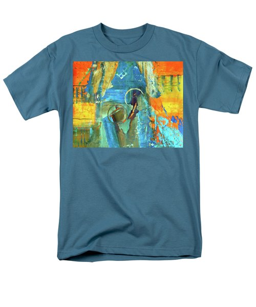 Men's T-Shirt  (Regular Fit) featuring the painting The End Game by Everette McMahan jr