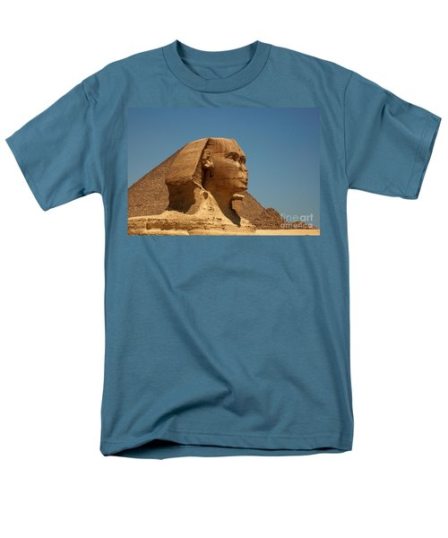 The Great Sphinx Of Giza Men's T-Shirt  (Regular Fit) by Joe  Ng