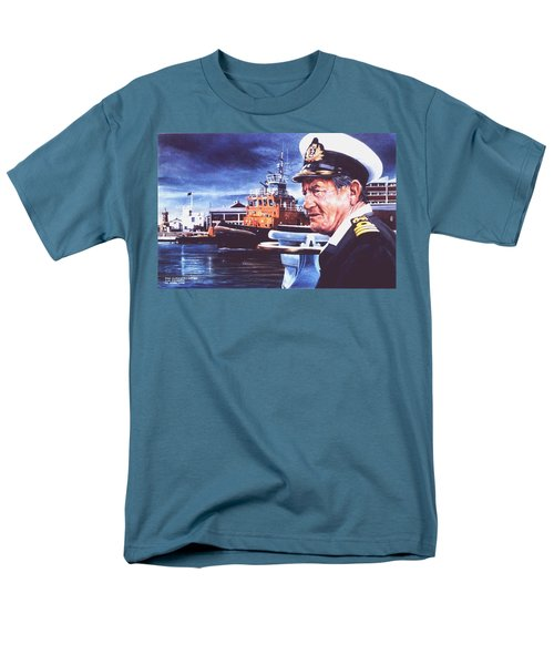 The Harbourmaster Men's T-Shirt  (Regular Fit) by Tim Johnson