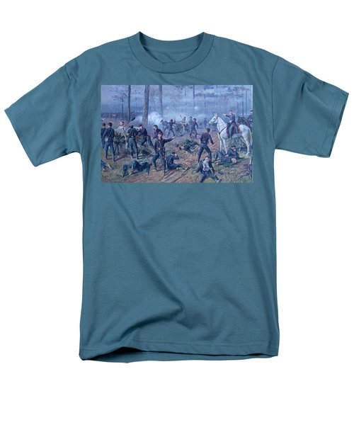 Men's T-Shirt  (Regular Fit) featuring the painting The Hornets' Nest by Thomas Corwin Lindsay