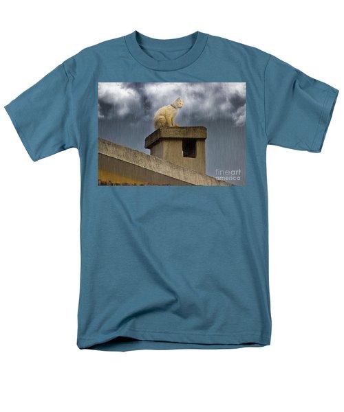 The Hunt Goes On Men's T-Shirt  (Regular Fit) by Al Bourassa