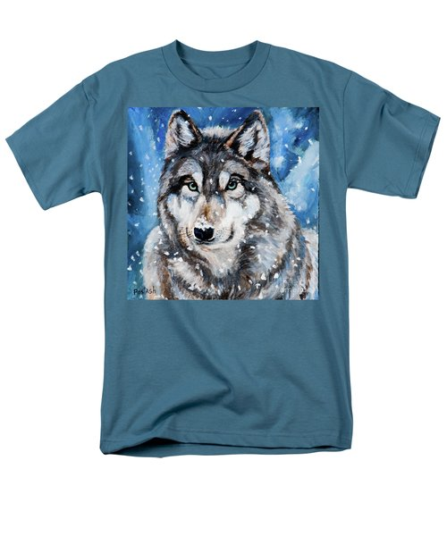 Men's T-Shirt  (Regular Fit) featuring the painting The Hunter by Igor Postash