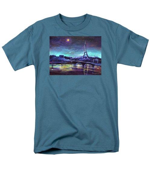 The Lights Of Paris Men's T-Shirt  (Regular Fit)