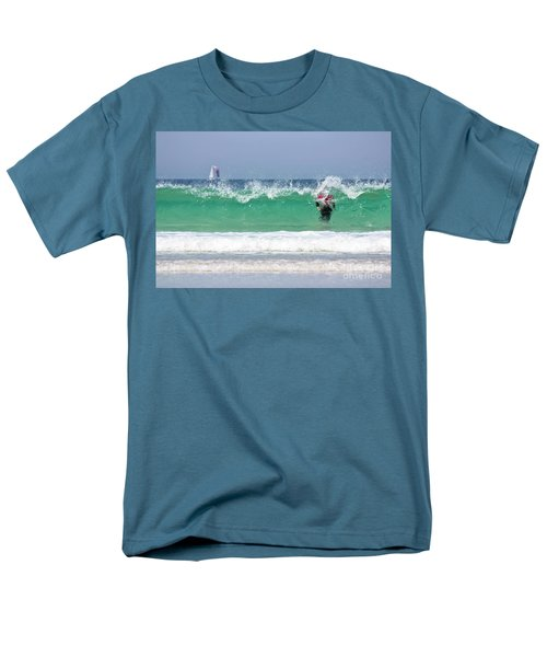 Men's T-Shirt  (Regular Fit) featuring the photograph The Little Mermaid by Terri Waters