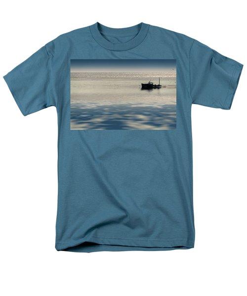 The Lobster Boat Men's T-Shirt  (Regular Fit) by Rick Berk