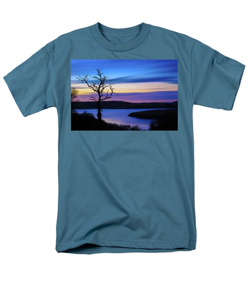 Men's T-Shirt  (Regular Fit) featuring the photograph The Naked Tree At Sunrise by Semmick Photo