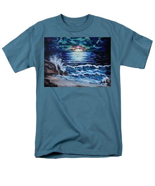 The Ocean Sings The Sky Listens Men's T-Shirt  (Regular Fit) by Cheryl Pettigrew