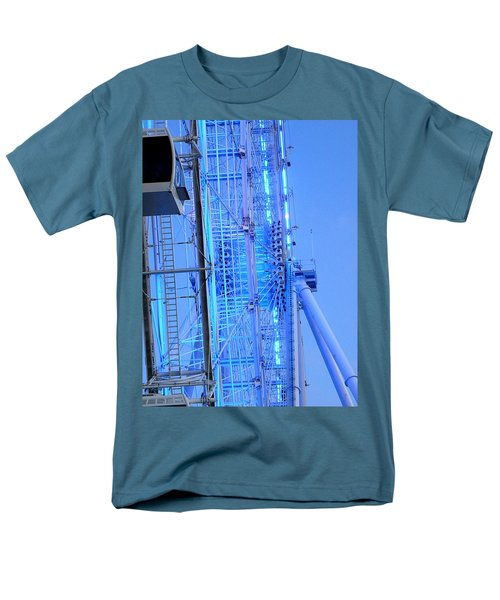 Men's T-Shirt  (Regular Fit) featuring the photograph The Orlando Eye 002 by Chris Mercer