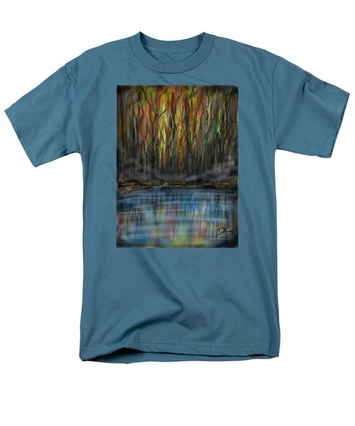 The River Side Men's T-Shirt  (Regular Fit) by Darren Cannell
