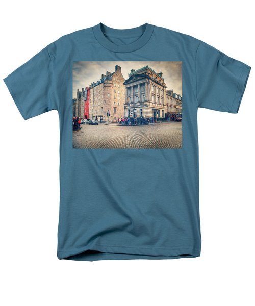 The Royal Mile Men's T-Shirt  (Regular Fit) by Ray Devlin