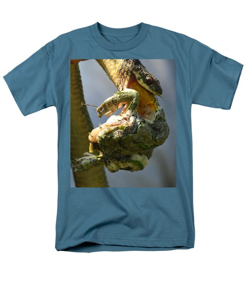 The Serpent And The Frog Men's T-Shirt  (Regular Fit) by Lisa DiFruscio