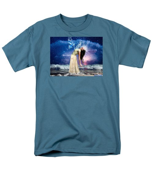Men's T-Shirt  (Regular Fit) featuring the digital art The Spirit Of Truth by Dolores Develde