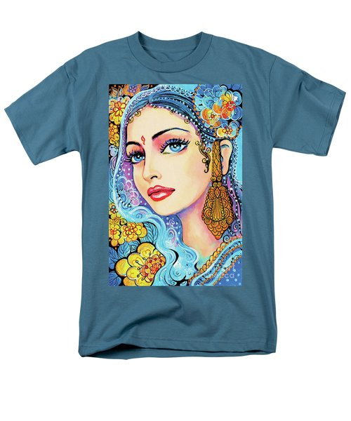 Men's T-Shirt  (Regular Fit) featuring the painting The Veil Of Aish by Eva Campbell