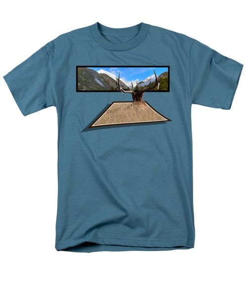 Men's T-Shirt  (Regular Fit) featuring the photograph The View by Shane Bechler