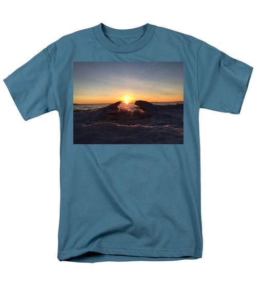 Men's T-Shirt  (Regular Fit) featuring the photograph The Walrus And The Bear by Paula Brown