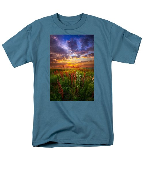 The Whispered Voice Within Men's T-Shirt  (Regular Fit) by Phil Koch