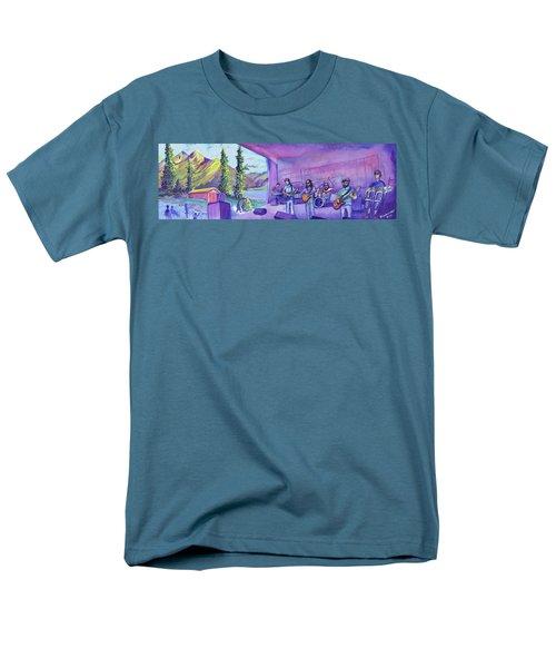 Thin Air At Dillon Amphitheater Men's T-Shirt  (Regular Fit) by David Sockrider