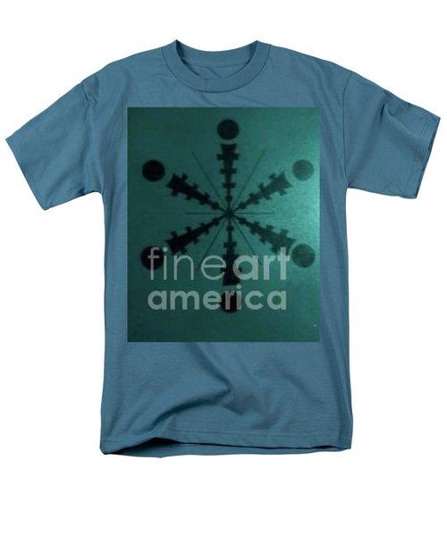 Tibetan I-eye Wheel Men's T-Shirt  (Regular Fit) by Talisa Hartley