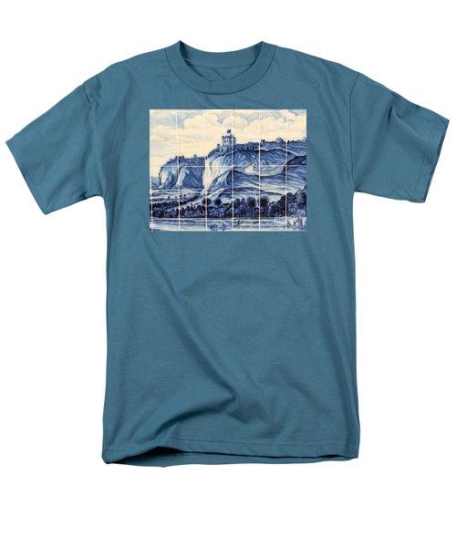 Tile Art Of African History Men's T-Shirt  (Regular Fit) by John Potts