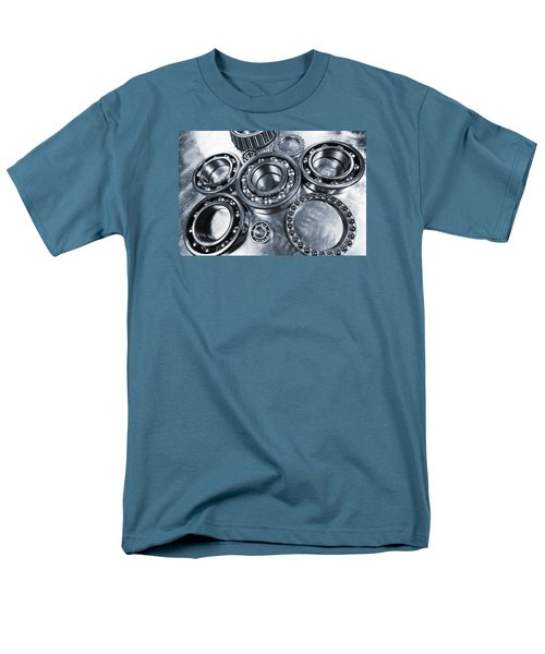 Titanium And Steel Ball-bearings Men's T-Shirt  (Regular Fit) by Christian Lagereek