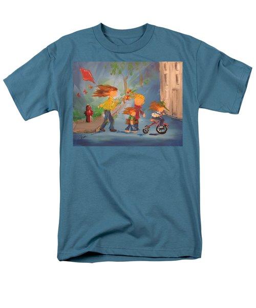 To The Park Men's T-Shirt  (Regular Fit) by Terri Einer