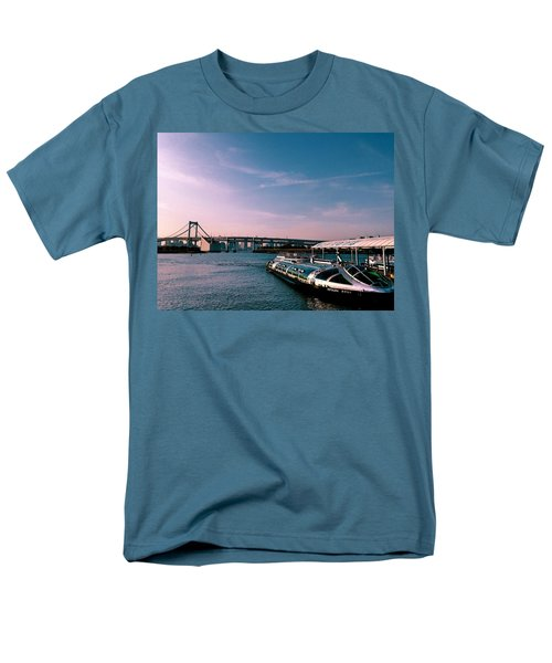 To The Space From Sea Men's T-Shirt  (Regular Fit)
