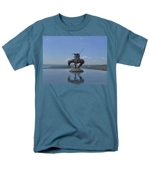 Top Of The Rock Infinity Pool Men's T-Shirt  (Regular Fit) by Julie Grace