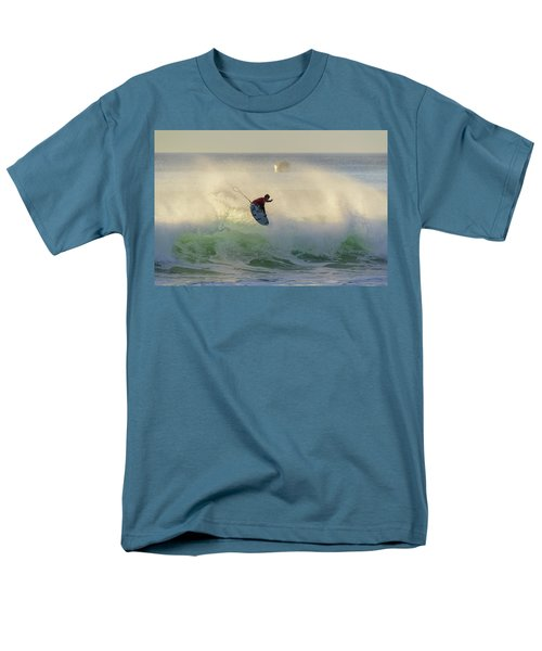 Men's T-Shirt  (Regular Fit) featuring the photograph Touch The Sun by Thierry Bouriat