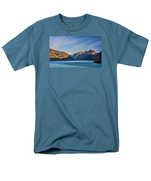 Tracy Arm Fjord  Men's T-Shirt  (Regular Fit) by Lewis Mann