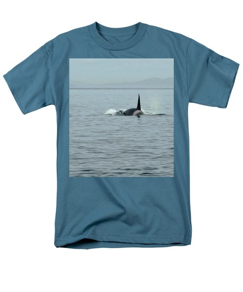 Transient Killer Whale Men's T-Shirt  (Regular Fit) by Brian Chase