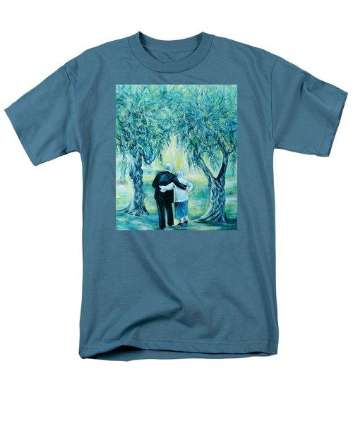 Travel Notebook.olive Groves Men's T-Shirt  (Regular Fit)